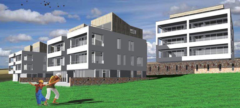 Bytové domy Záhorská Bystrica